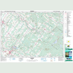 Canadian Topo Map - Warwick - Map 021E13