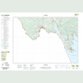 Canadian Topo Map - St. Stephen - Map 021G03