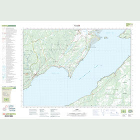 Canadian Topo Map - Alma - Map 021H10