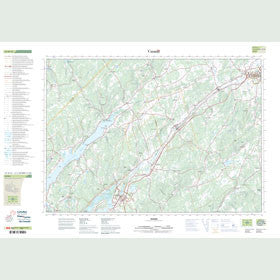 Canadian Topo Map - Sussex - Map 021H12