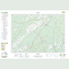Canadian Topo Map - Petitcodiac - Map 021H14
