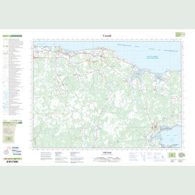 Canadian Topo Map - Port Elgin - Map 021I01
