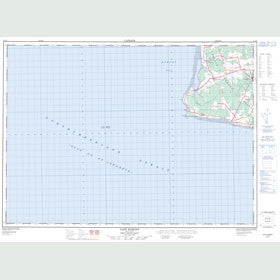 Canadian Topo Map - Cape Egmont - Map 021I08