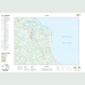 Canadian Topo Map - Richibucto - Map 021I10