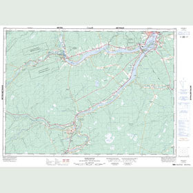 Canadian Topo Map - Newcastle - Map 021I13