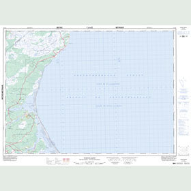 Canadian Topo Map - Pointe-Sapin - Map 021I15
