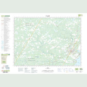 Canadian Topo Map - Minto - Map 021J01