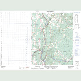 Canadian Topo Map - Aroostook - Map 021J13