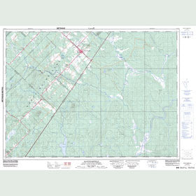 Canadian Topo Map - Saint-Pamphile - Map 021K13