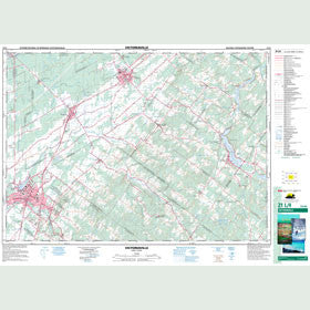 Canadian Topo Map - Victoriaville - Map 021L04
