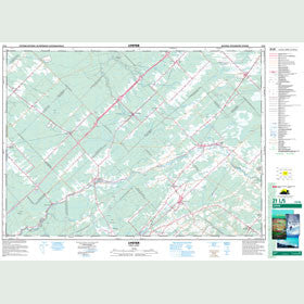 Canadian Topo Map - Lyster - Map 021L05