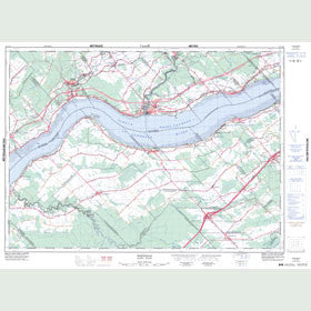 Canadian Topo Map - Portneuf - Map 021L12