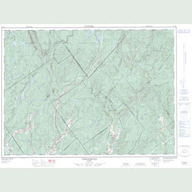 Canadian Topo Map - Tewkesbury - Map 021M03