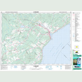 Canadian Topo Map - La Malbaie - Map 021M09