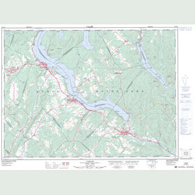 Canadian Topo Map - Cabano - Map 021N10