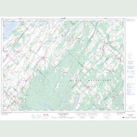 Canadian Topo Map - Saint-Modeste - Map 021N14