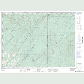 Canadian Topo Map - Grand River - Map 021O05