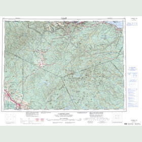 Canadian Topo Map - Campbellton - Map 021O