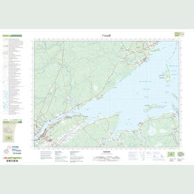 Canadian Topo Map - Chatham - Map 021P03