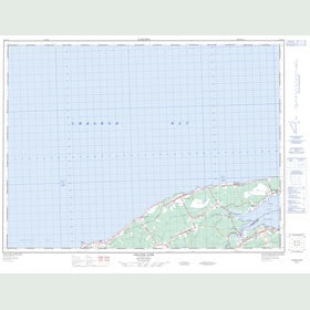 Canadian Topo Map - Grande-Anse - Map 021P14