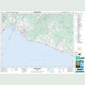 Canadian Topo Map - New Richmond - Map 022A04