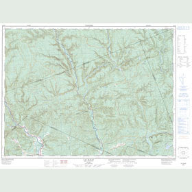 Canadian Topo Map - Lac McKay - Map 022A05