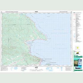 Canadian Topo Map - Percé - Map 022A09