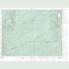 Canadian Topo Map - Lac Madeleine - Map 022A13