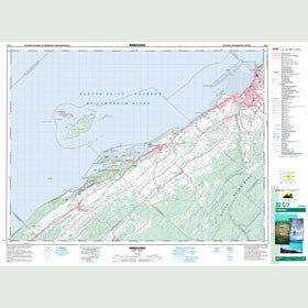 Canadian Topo Map - Rimouski - Map 022C07