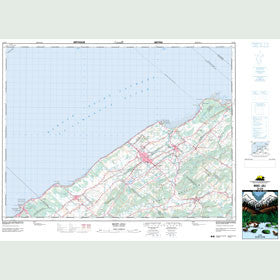 Canadian Topo Map - Mont-Joli - Map 022C09