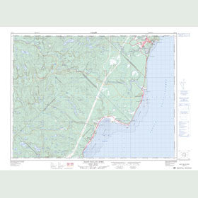Canadian Topo Map - Saint-Paul-du-Nord - Map 022C11