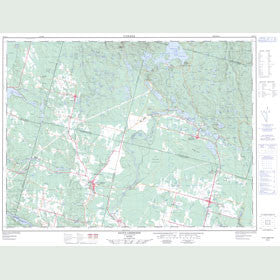 Canadian Topo Map - Saint-Ambroise - Map 022D11