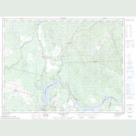 Canadian Topo Map - Rivière Alex - Map 022D13