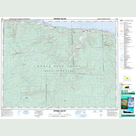 Canadian Topo Map - Grande-Vallée - Map 022H03