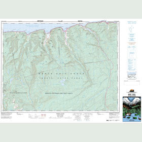 Canadian Topo Map - Mont-Louis - Map 022H04