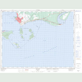 Canadian Topo Map - Sept-Îles - Map 022J01
