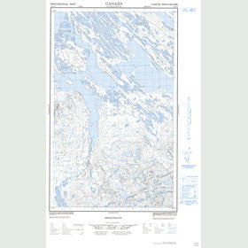 Canadian Topo Map - Map 023A07E