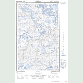 Canadian Topo Map - Map 023A07W