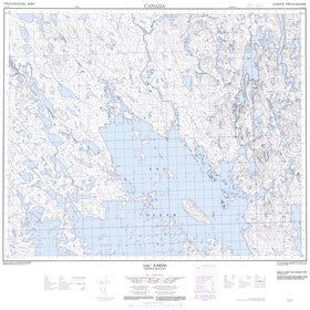 Canadian Topo Map - Lac Joseph - Map 023A14