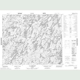 Canadian Topo Map - Lac Marquiset - Map 023F11