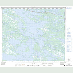 Canadian Topo Map - Way Bay - Map 023H11
