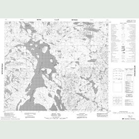 Canadian Topo Map - Signal Hill - Map 023I09