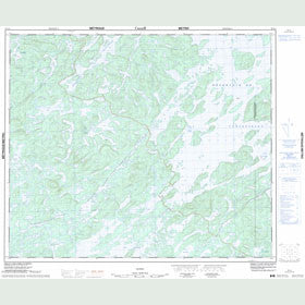 Canadian Topo Map - Map 023L01