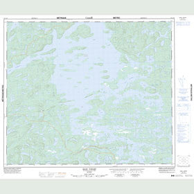 Canadian Topo Map - Baie Vipart - Map 023L10