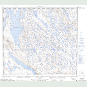 Canadian Topo Map - Fort MacKenzie - Map 024C15
