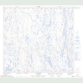 Canadian Topo Map - Lac Souel - Map 024F08