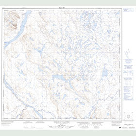 Canadian Topo Map - Gorge du Manitou - Map 024F11