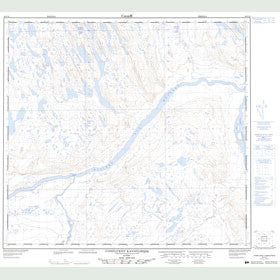 Canadian Topo Map - Confluent Kannilirqiq - Map 024F12