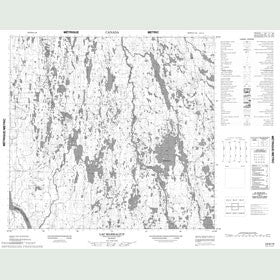 Canadian Topo Map - Lac Marraliup - Map 024G14