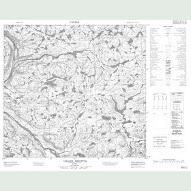 Canadian Topo Map - Colline Misurtuq - Map 024H11